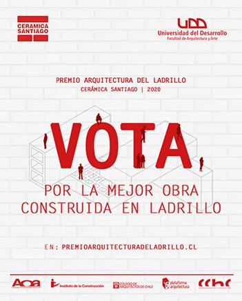 vota en concurso de arquitectura ladrillo